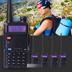 5 cái/lô baofeng uv-5r interphone vhf 136-174 uhf 400-520 mhz dual band transceiver two way radio uv5r xách tay walkie talkie