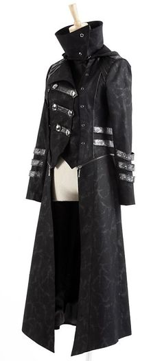 Long Manteau Veste Gothique Visual Mixte