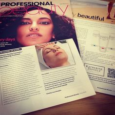 There was lots of love for KDC in this month's @Saturated Simplicity Beauty Magazine! #KatherineDaniels #ProfessionalBeauty #ProfessionalBeautyMagazine