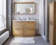 Grande salle de bain familiale massa castorama salle - Meuble salle de bain castorama ...