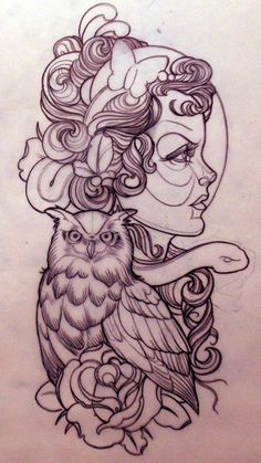 The Art of Emily Rose Murray   Ink Butter%u2122   Tattoo Culture and Art Daily on we heart it / visual bookmark #5107828