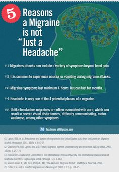 "not ""just a headache"""