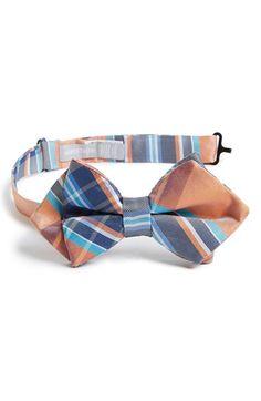 Nordstrom+'Malibu'+Plaid+Silk+Bow+Tie+(Big+Boys)+available+at+#Nordstrom