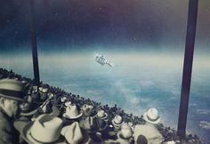 Astronaut | : MiraRuido : Joseba Elorza : Freelance Illustrator. Ilustrador freelance.