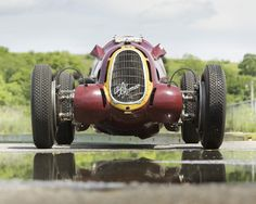 Alfa reflections on the water!