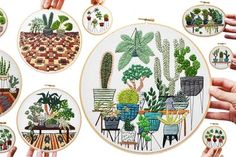 Stitch, Please! 9 Embroiderers Serving Up Instagram Eye Candy | Apartment Therapy