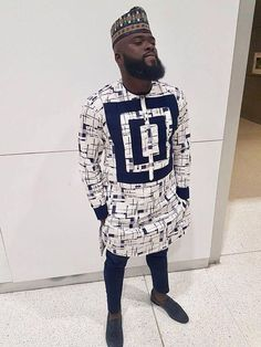 African styles that is stylish! African Shirts For Men, African Dresses Men, African Attire For Men, African Clothing For Men, African Wear, Nigerian Men Fashion, African Print Fashion, Black Men Street Fashion, Mens Fashion