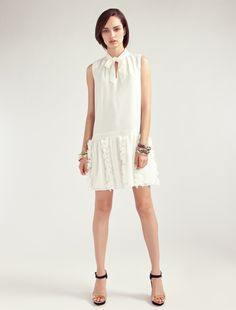 ALICE by Temperley, Spring Summer '13, Mini Swan Dress