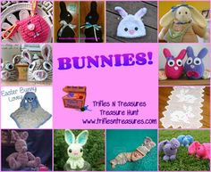 12 BUNNY patterns- just in time for Easter!