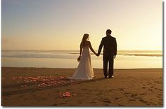 Romantic beach weddings