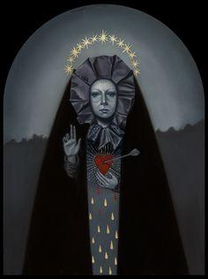 Jasmine Worth's Surreal 'Blood & Tears' at La Luz De Jesus