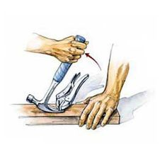 Yanking out old, rusted nails is no fun, but the task becomes even more difficult when a nail head pops off. Here's an old carpentry trick that can be used to remove any headless nail, without damaging the board.| Illustration: Narda Lebo | thisoldhouse.com