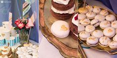 Macarons-mit-Gold-Hochzeit-Sweet-Table-Hochzeitgartenfest
