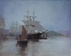 Montague Dawson RMSA, FRSA (1895–1973) was a British painter who was renowned as a maritime artist.