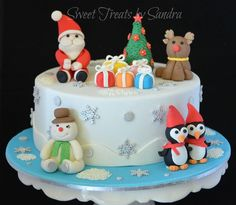 Christmas Cake - Cake by Sandra