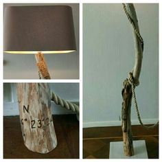 Zeehout Katwijk/driftwood lamp