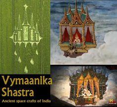 crop circle flying vimana from mahabharata