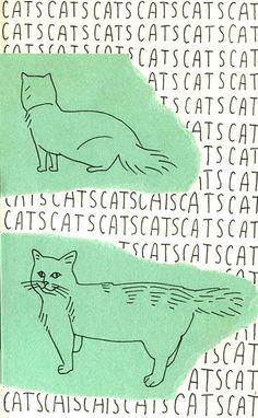 Minimalist Cat Art by Pavel Pichugin Gets Maximum Laughs | Catster