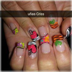 Pedicure, Acrylic Nails, Nail Designs, Hair, Work Nails, Nail Decorations, Hands, Decorations, Drawings