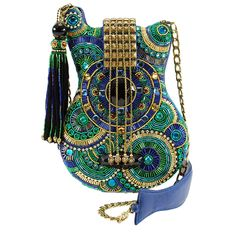 Shop the latest collection of Mary Frances MARY FRANCES Blue Note Beaded Cross-Body Mosaic Guitar Handbag from the most popular stores - all in one place. Similar products are available. Summer Handbags, Blue Handbags, Purses And Handbags, Ladies Handbags, Luxury Handbags, Designer Handbags, Hobo Handbags, Burberry Handbags, Gucci Purses