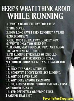 nice Ever have these thoughts on your run? :)... by http://dezdemon-humoraddiction.space/running-humor/ever-have-these-thoughts-on-your-run/