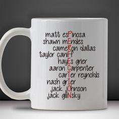 Magcon Boys Perfection Mug Mug, Tea Mug, Coffee Mug