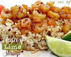 Healthy Honey Lime Shrimp Recipe