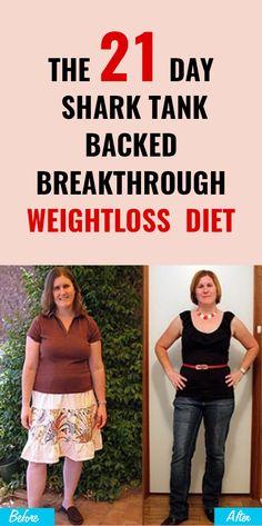 The 21 Day Shark Tank Backed Breakthrough Weightloss Diet Plan