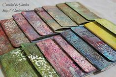 Art ... The view from me ...: Mini art journaling for the friends of the DT (with the Gelli plate)!