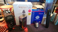 Just in... Twisted Messes 24 Pro, Joyetech Espion Solo (10th Anniversary Edition), HellVape/Ambitionz Aequitas RDA and the KangerTech UBOAT Pod Kit