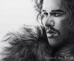 Jon Snow by Painirl on DeviantArt