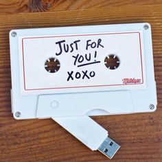 Mixtape USB for your sweetheart