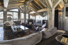Chalet Colombe is a luxury ski chalet in Courchevel 1850 exclusively run by Kaluma Ski. Private chalet with 5 star hotel facilities. Chalet Interior, Luxury Interior, Interior Design, Courchevel 1850, Luxury Ski Holidays, Ski Chalet, Bedroom With Ensuite, Sit Back And Relax, Skiing