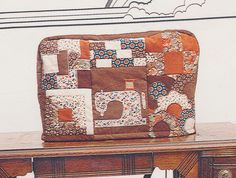Patches of Joy Quilted Sewing Machine Cover Pattern Sampler