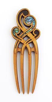 Maori 4-Pin Koru Heru Comb http://www.shopenzed.com/maori-4-pin-koru-heru-comb-xidp680361.html