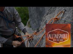 Knowhow Standplatz mit Reihenschaltung und Kletterseil - Ludwig Karrasch Ludwig, Paper Shopping Bag, Climbing, Climbing Rope, Knots, Tutorials, Mountaineering, Hiking, Rock Climbing