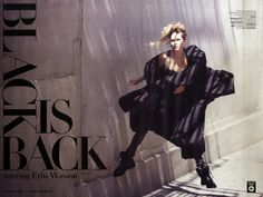 Erin Wasson by David Bellemere for Marie Claire Italia Oct 2014