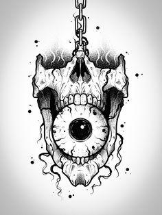 Skull Tattoo Design, Tattoo Design Drawings, Skull Tattoos, Tattoo Sketches, Tattoo Designs Men, Body Art Tattoos, Sleeve Tattoos, Hand Tattoos, Danse Salsa