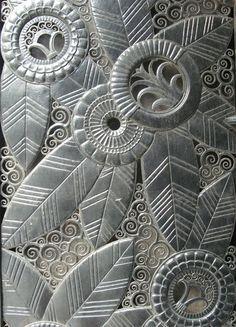swirls in all the gaps                   Art DecoGrillwork by Edgar Brandt