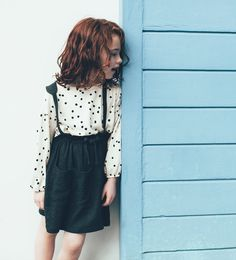 Image 1 of SPOTTED SMOCK TOP from Zara