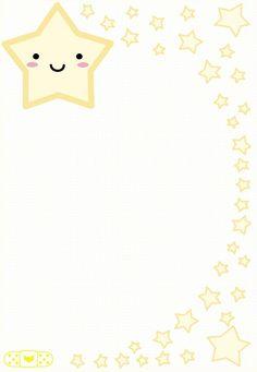 Little Star stationary by ~NATHA-LUNA on deviantART