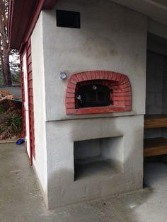 """Str 0.70 x 0.80. Ovn på hytte i Froland, Aust-Agder -  En selvlaget ovn på hytta. Mye god mat og hygge rundt en bakerovn! Tilbakemelding fra byggeren: """"Sånn ble det, og det smakte veldig BRA!!"""""""