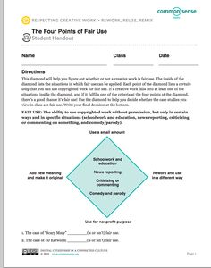 For Teachers: The Difference between Fair Use and Copyright
