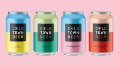 Cold Town Beer – Packaging of the World Cold Town Beer Cold Town Beer on Packaging of the World – Creative Package Design Gallery Beer Packaging, Beverage Packaging, Brand Packaging, Design Packaging, Medicine Packaging, Product Packaging, Branding Design, Kombucha, Craft Beer Labels