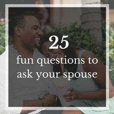 John Gottman calls them love maps. We call them open ended questions. The point here is that you talk, laugh, dream and learn more about each other. Some questions are silly while others really get…