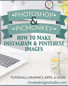 How to Create Images for Instagram and Pinterest by RhodaDesignStudio