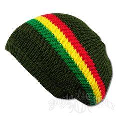 Rasta Stripes and Olive Tam Headwear. Rasta Empire. Bob Marley ... da65084f50b