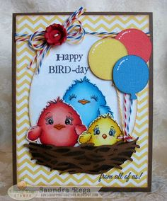 Happy Bird-day! ~Peachy Keen Inspiration and Challenge