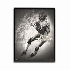 Detroit Lions Calvin Johnson Legends 24x18 Football Poster