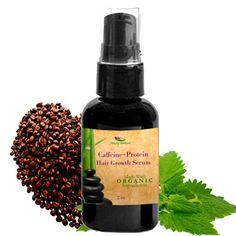 Organic Caffeine + Protein Hair Growth Serum